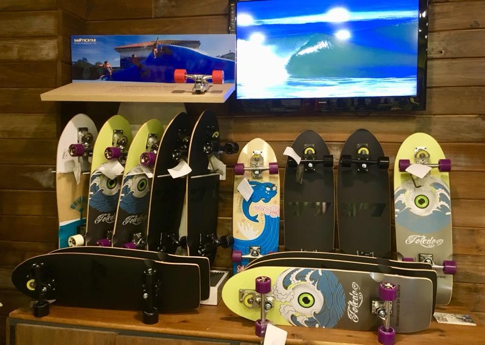 SURF SKATE SURFSKATE SMOOTHSTAR FILIPE TOLEDO